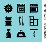 filled tools icon set such as... | Shutterstock .eps vector #1091387882