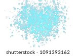 light blue vector pattern with... | Shutterstock .eps vector #1091393162
