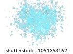 light blue vector pattern with... | Shutterstock .eps vector #1091393162