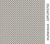 retro monochrome textile... | Shutterstock .eps vector #1091393702