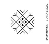 sun. minimal abstract design... | Shutterstock .eps vector #1091412602