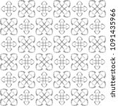 seamless abstract black texture ... | Shutterstock . vector #1091435966
