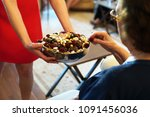 confectionery and chocolates... | Shutterstock . vector #1091456036