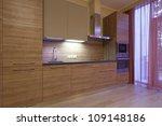 modern kitchen | Shutterstock . vector #109148186