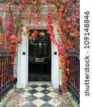 london  front door in a classic ... | Shutterstock . vector #109148846