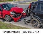Car Crash Accident On Street ...