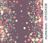 rhombus isolated minimal...   Shutterstock .eps vector #1091524238