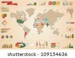 vector set elements of... | Shutterstock .eps vector #109154636