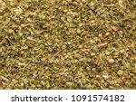 Oregano Spice Detail Macro...
