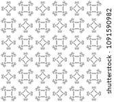 seamless abstract black texture ... | Shutterstock . vector #1091590982