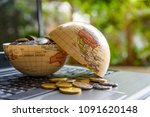 passive income or making money  ... | Shutterstock . vector #1091620148