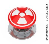 Red Atomic Bomb Launch Nuclear...