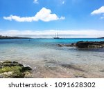 beautiful sea near to... | Shutterstock . vector #1091628302
