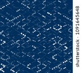 isometric grid template.... | Shutterstock .eps vector #1091645648