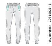 vector illustration of women's... | Shutterstock .eps vector #1091683946