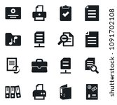 set of simple vector isolated... | Shutterstock .eps vector #1091702108