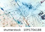 abstract tech background 3d... | Shutterstock . vector #1091706188