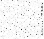 pointillism low density... | Shutterstock .eps vector #1091707055