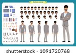 people character business set.... | Shutterstock .eps vector #1091720768