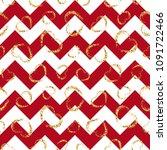 gold heart seamless pattern.... | Shutterstock .eps vector #1091722466