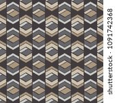 ethnic boho seamless pattern.... | Shutterstock .eps vector #1091742368