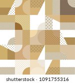 japanese pattern vector. gold... | Shutterstock .eps vector #1091755316