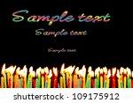 candles against a dark...   Shutterstock . vector #109175912