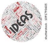 vector conceptual creative idea ... | Shutterstock .eps vector #1091793605