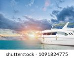 yatch in beautiful red sea | Shutterstock . vector #1091824775