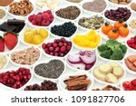 nutrition for a healthy heart... | Shutterstock . vector #1091827706