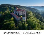 moravian castle pernstejn ... | Shutterstock . vector #1091828756