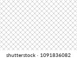 net pattern isolated on white... | Shutterstock .eps vector #1091836082
