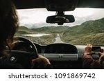 national park of norway view... | Shutterstock . vector #1091869742