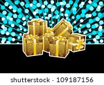 festive background   a lot of... | Shutterstock .eps vector #109187156