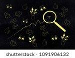 website analytics and...   Shutterstock . vector #1091906132