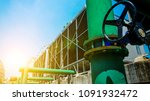 the cooling tower | Shutterstock . vector #1091932472