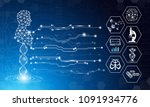 abstract background technology... | Shutterstock .eps vector #1091934776