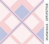seamless tartan plaid pattern... | Shutterstock .eps vector #1091937518