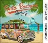 Santa Barbara California Poster ...