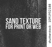 sand texture for print or web | Shutterstock .eps vector #1091952188