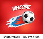 world competition concept.... | Shutterstock .eps vector #1091955236