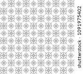 seamless abstract black texture ... | Shutterstock . vector #1091975402