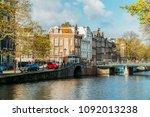 amsterdam  netherlands  ... | Shutterstock . vector #1092013238