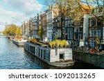 amsterdam  netherlands  ... | Shutterstock . vector #1092013265