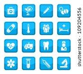 medical vector icon set for web ... | Shutterstock .eps vector #109204556