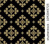 seamless geometrical pattern... | Shutterstock .eps vector #1092045725