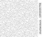 minimalistic outline black...   Shutterstock .eps vector #1092059798