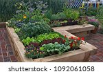 Raised Vegetable Garden With...
