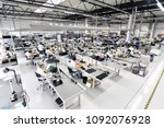 industrial factory for assembly ... | Shutterstock . vector #1092076928
