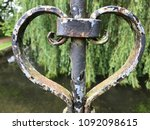 Heart Rusted Antique Gothic...